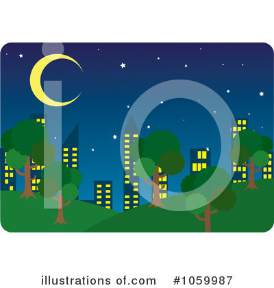 City Clipart #1059987 by Rosie Piter