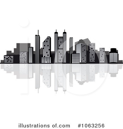 City Clipart #1063256 by Vector Tradition SM