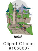 Royalty-Free (RF) City Clipart Illustration #1068807