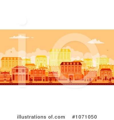City Clipart #1071050 by AtStockIllustration
