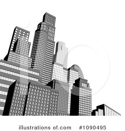 Royalty-Free (RF) City Clipart Illustration by AtStockIllustration - Stock Sample #1090495