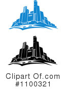 Royalty-Free (RF) City Clipart Illustration #1100321