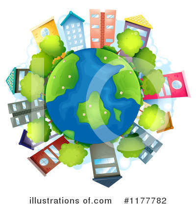 Earth Clipart #1177782 by Graphics RF