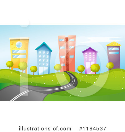 Road Clipart #1184537 by Graphics RF