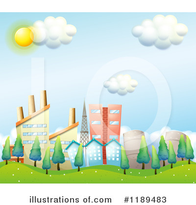 Royalty-Free (RF) City Clipart Illustration by Graphics RF - Stock Sample #1189483