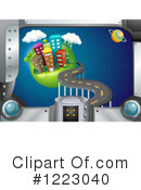 City Clipart #1223040 by Graphics RF