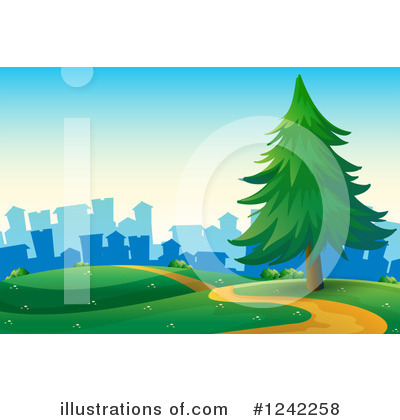 Trail Clipart #1242258 by Graphics RF