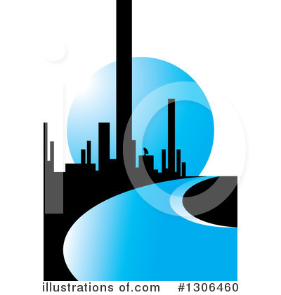 Skyscrapers Clipart #1306460 by Lal Perera