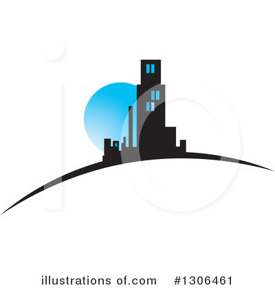 City Clipart #1306461 by Lal Perera