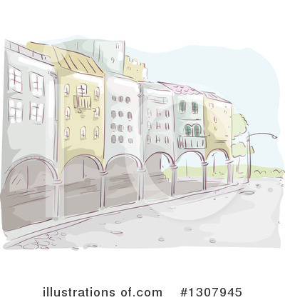 Royalty-Free (RF) City Clipart Illustration by BNP Design Studio - Stock Sample #1307945