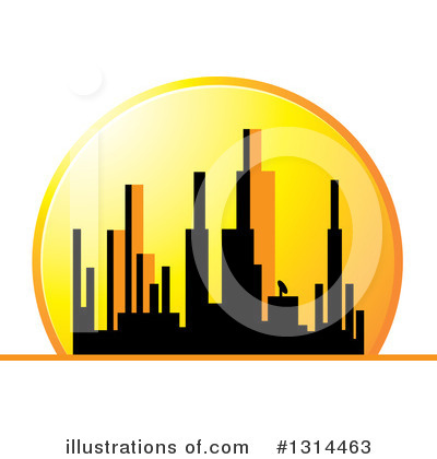 Sunset Clipart #1314463 by Lal Perera