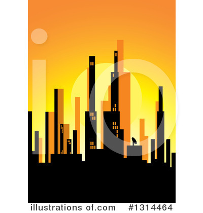 Sunset Clipart #1314464 by Lal Perera