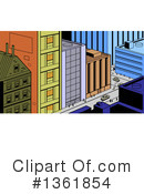City Clipart #1361854 by Clip Art Mascots