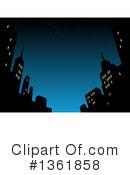 City Clipart #1361858 by Clip Art Mascots