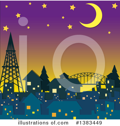 City Clipart #1383449 by Graphics RF