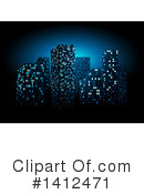 City Clipart #1412471 by dero