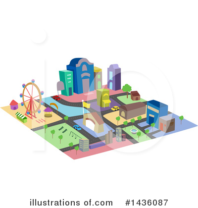 Village Clipart #1436087 by BNP Design Studio