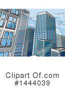 Royalty-Free (RF) City Clipart Illustration #1444039