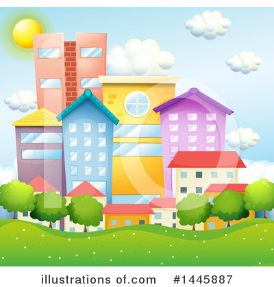 City Clipart #1445887 by Graphics RF