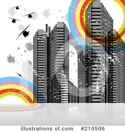 Royalty-Free (RF) City Clipart Illustration by MilsiArt - Stock Sample #210506
