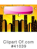 Royalty-Free (RF) City Clipart Illustration #41039