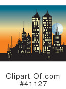 City Clipart #41127 by Dennis Holmes Designs