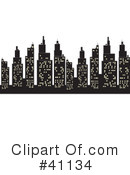 City Clipart #41134 by Dennis Holmes Designs