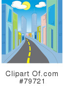 Royalty-Free (RF) City Clipart Illustration #79721
