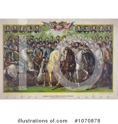 Royalty-Free (RF) Civil War Clipart Illustration by JVPD - Stock ...