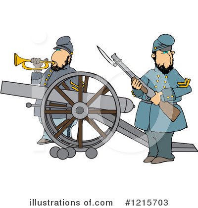 Union Soldier Clipart #1215703 by djart