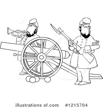 Union Soldier Clipart #1215704 by djart