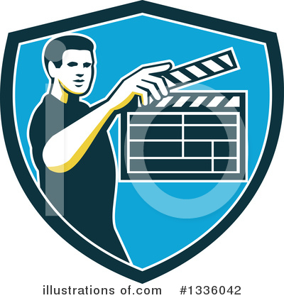 Clapperboard Clipart #1336042 by patrimonio