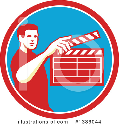 Clapperboard Clipart #1336044 by patrimonio