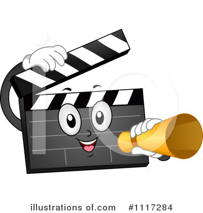 Royalty-Free (RF) Clapper Clipart Illustration by BNP Design Studio - Stock Sample #1117284