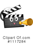 Clapper Clipart #1117284 by BNP Design Studio