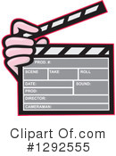 Clapperboard Clipart #1292555 by patrimonio