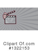 Clapperboard Clipart #1322153 by patrimonio