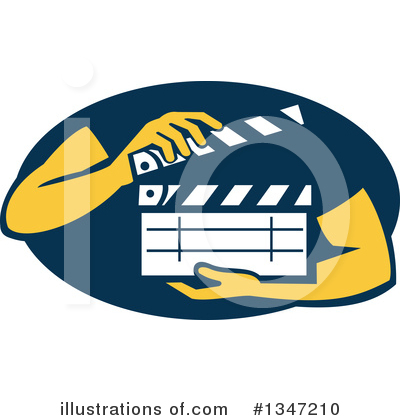 Clapper Clipart #1347210 by patrimonio