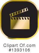 Clapperboard Clipart #1393106 by Lal Perera