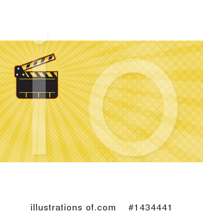 Clapperboard Clipart #1434441 by patrimonio