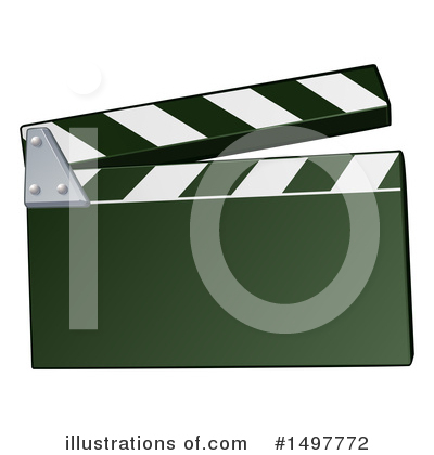 Clapper Board Clipart #1497772 by AtStockIllustration
