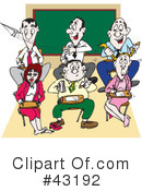 Classroom Clipart #43192 by Dennis Holmes Designs