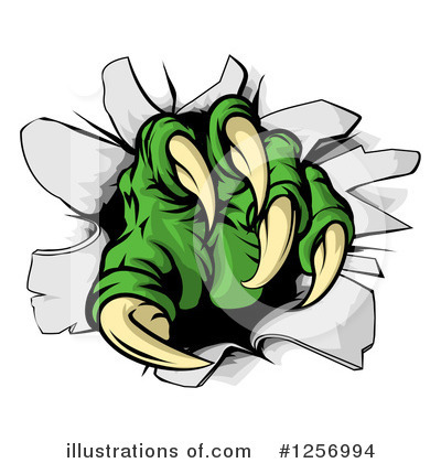 Alien Clipart #1256994 by AtStockIllustration