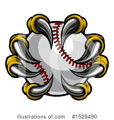 Baseball Clipart #1529490 by AtStockIllustration