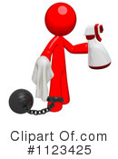 Royalty-Free (RF) Cleaning Clipart Illustration #1123425