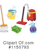 Cleaning Clipart #1150793 by BNP Design Studio