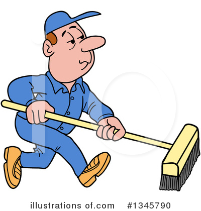 Cleaning Clipart #1345790 by LaffToon