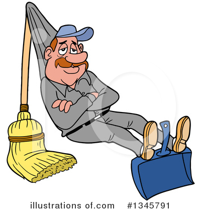 Cleaning Clipart #1345791 by LaffToon