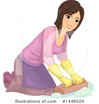 Royalty-Free (RF) Cleaning Clipart Illustration by BNP Design Studio - Stock Sample #1446526