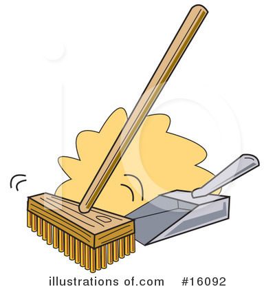 Sweeping Clipart #16092 by Andy Nortnik